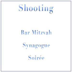 Shooting Bar Mitzvah Synagogue + Soirée
