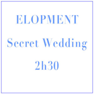 Elopment, secret wedding