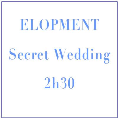 Elopment, secret wedding