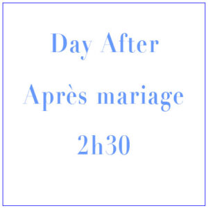 DAY AFTER – Shooting Photo Après Mariage