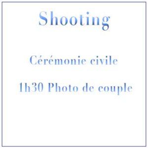 Shooting Mariage Civil Mairie & 1h30 Photo de Couple