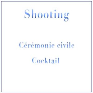 Shooting Mariage Civil Mairie