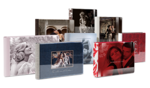 Album Photo Mariage – 35×25 – 80 pages – Livre Plexi – coffret design box simili cuir