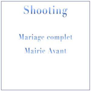 Shooting Mariage – Mairie avant